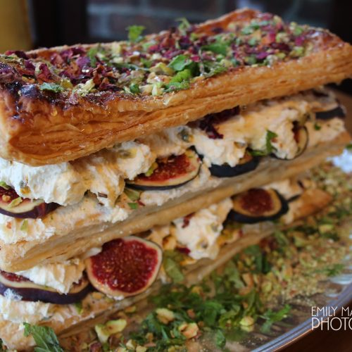 Fig & Rose Millefeuille, Home