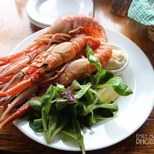 Lunch at Crinan Hotel, Crinan