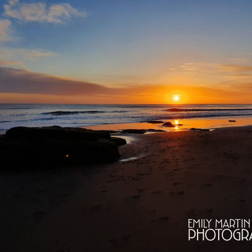 Long Sands Sunrise - March 2020